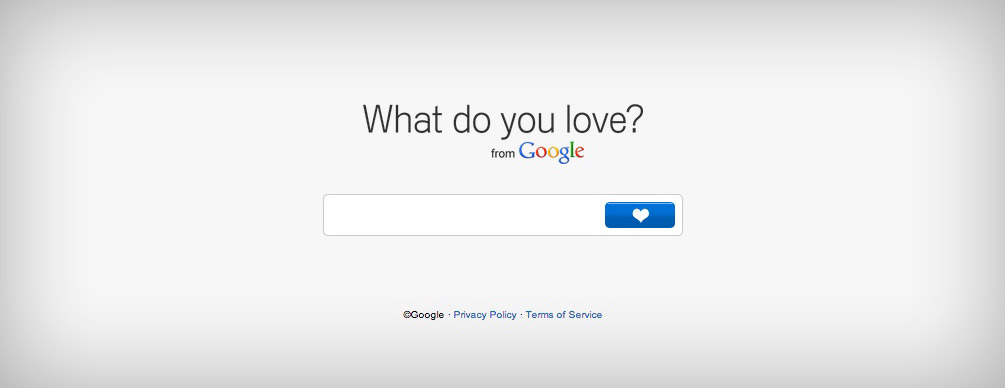What Do You Love from Google